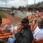 All Care at baseball game watching Mercer Bears!