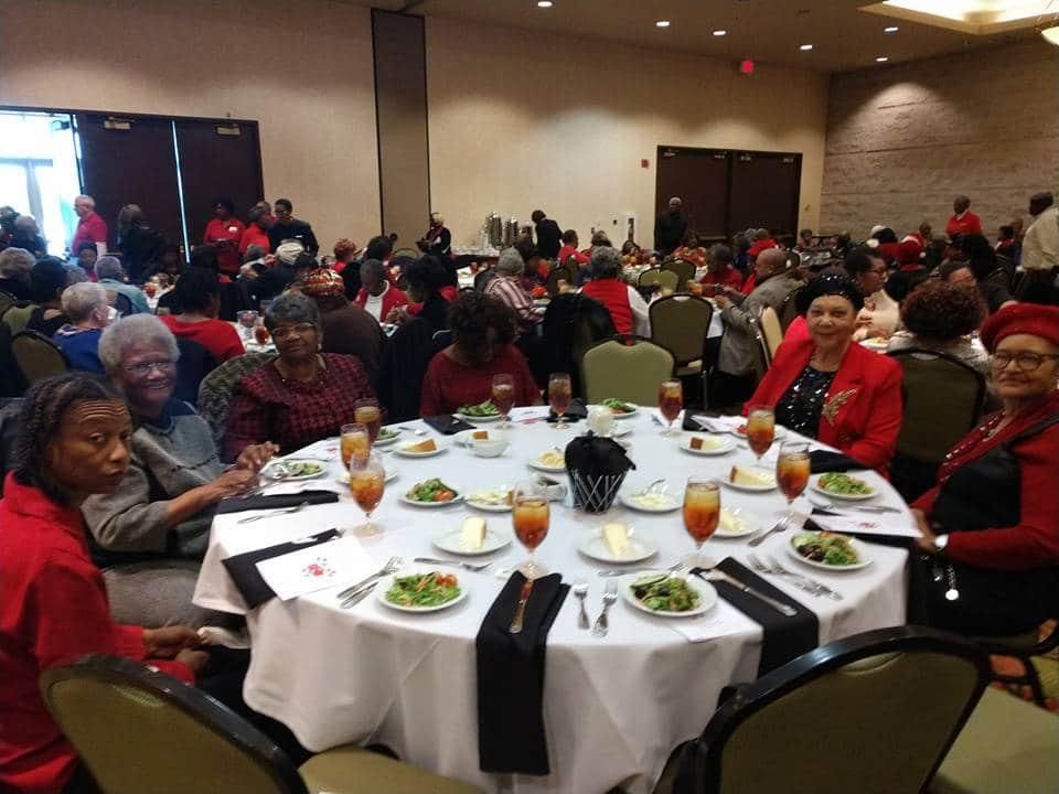 Bibb County Senior Citizen Christmas Luncheon